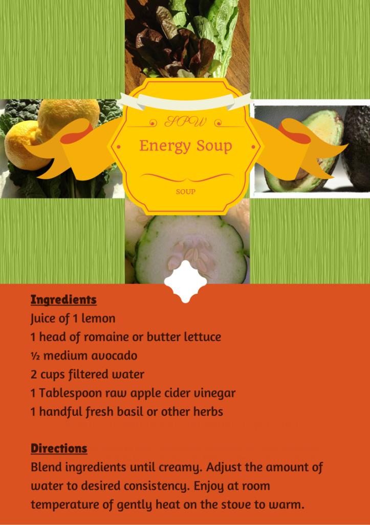 Energy Soup