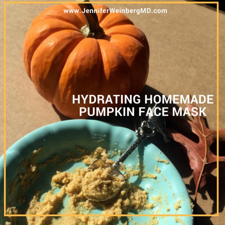 Homemade Hydrating Pumpkin Face Mask Diy Natural Beauty Dr Jennifer L Weinberg Md Mph Mbe