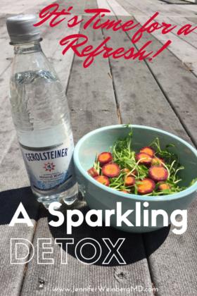 Join the Gerolsteiner Mineral Water #SparklingDetox #Detox #cleanse #free #water #detoxification #health #healthy #wellness www.JennfierWeinbergMD.com