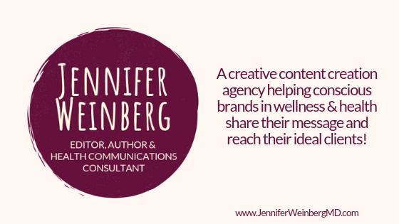 Professional Writing & Editing: Dr  Weinberg MDDr  Jennifer